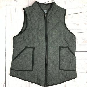 41 Hawthorn Shara Herringbone Vest Stitch Fix L